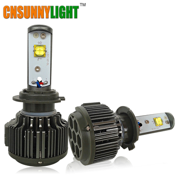 CNSUNNYLIGHT H7 LLEVÓ la LINTERNA DEL COCHE 30 W 3600LM BOMBILLA H8 H9 H11 HB3 HB4 9005 9006 H1 H3 880 Automotive Luz de Reemplazo Blanco bombillas