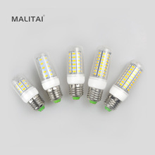 1Pcs E27 E14 G9 B22 GU10 220V LED lamp 5730 SMD 24 36 48 56 69 LEDs Corn light Bulb Spot light Chandelier lighting(China)
