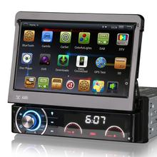 "7"" Quad Core Android 4.4.4 OS 1 Din Car DVD One Din Car Radio Single Din Car Multimedia System with External DAB+ Tuner Support"