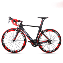 700C carbon fiber road bike carbon fiber frame 22 speed variable speed kit professional competition bicycle electronic DI(China)