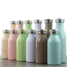 350ml/500ml Vacuum Flask Double Wall Stainless Steel Insulated Water Bottle Solid Portabl Great for Cold Drink Cola Style HJ28