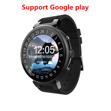 2018 New I6 Smart Watch Android 5.1 OS MTK6580 Quad Core 1.3GHz 2GB 16GB Smartwatch Support Google Play Store Map 3G GPS Wifi(China)