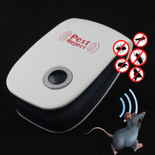 Enhanced Electronic Ultrasonic Pest Repeller Mole Mice Repellent Anti Cockroach Mosquito Insect Killer Rodent Bug Zapper Reject(China)