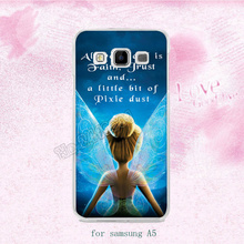 B0541 tinkerbell fairies hard plastic cases for samsung A3 A5 A7 A8 A9 J1 J3 J5 J7 2015 2016 s6 s6edge plus s7 edge s8plus note5(China)