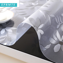 2017 eprmte 1 pc 60*120cm solid pvc rectangle tablecloth home waterproof modern platic oilproof cloth Customizable free shipping
