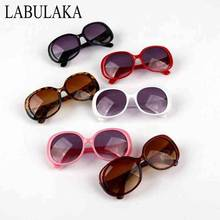 LABULAKA 2017 Boys Girls Sunglasses Cute Round Anti-UV Kids Children Glasses Plastic Eyewear Baby Goggles Oculos De Sol