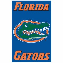 Florida gators  Flag 3ftx5ft Banner 100D Polyester NCAA Flag 90x150cm 2 metal Grommets(3)