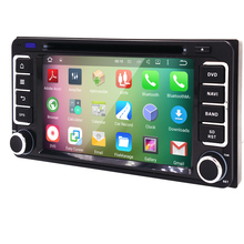 Android 5.1 car dvd gps for toyota Universal car dvd player alphard hilus fortuner innoval old camry corolla vios RAV4 PRADO