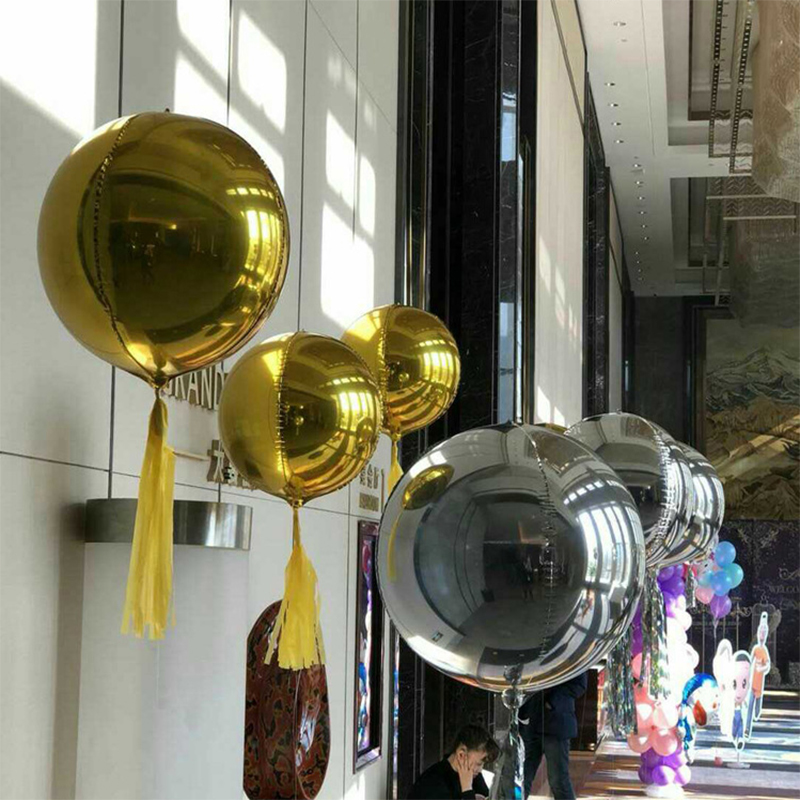 10PCS 12inch Foil Latex Rose Gold Confetti Ballons Happy Birthday Party Decor bN