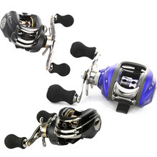 DMK 6.3:1 Left Hand Bait Casting Fishing Reel 11Ball Bearings + One-way Clutch High Speed  Baitcasting Reel Fishing Tackle