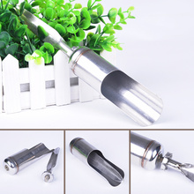 Portable Stainless Steel Telescoping Fishing Pole Hand Rod Holder Stand Bracket Fishing Tool(China)