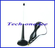 10pcs/lot Digital Freeview DVB-T TV HDTV Antenna 16dbi ~ 17dbi SMA Plug Connector telescopic Aerial Free Shipping(China)