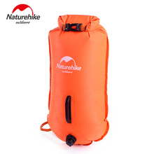 Naturehike 28L Outdoor Inflatable Waterproof Bag Double-balloon Snorkeling Swimming Bag 2 Colors Drifting Storage Dry Bag(China)