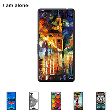 For Sony Xperia E3 E2 Dual D2203  Case Hard Plastic Mobile Phone Cover Case DIY Color Paitn Cellphone Bag Shell Shipping Free