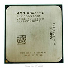 Процессор AMD Athlon II X2 255 3,1 ГГц двухъядерный Процессор процессор ADX255OCK23GQ/ADX255OCK23GM разъем AM3(China)