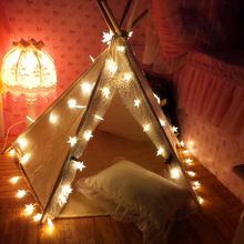100leds stars Led string Light 10M strip AC Plug for party home Girl Women Kid's room holiday christmas decor VR