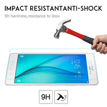 "Tempered Glass Screen Protector For Samsung Galaxy Tab A T350 T351 T355 8"" Tablet PC Anti-shock Protective Film(China)"