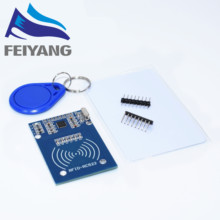 MFRC-522 RC522 RFID RF IC card sensor module to send  Fudan card,Rf module keychain for arduino