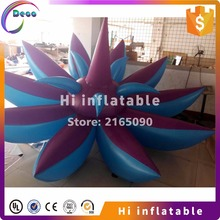 Outdoor decorative inflatable LED lotus flower for city center events(China)
