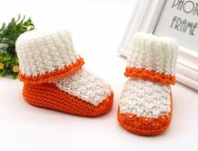 Mascara Halloween Fight color Toddler Newborn Baby Knitting Lace Crochet Shoes Buckle Handcraft Shoes Sapato