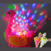 Luminous music peacock magic bar/light projection/luminous toys/baby toys for children/toy
