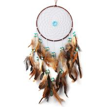Dreamcatcher Indian Style Wind Chimes Feather Pendant Dream Catcher Hanging Vintage Home Decoration