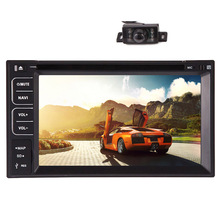 "In Dash Map Logo Touchscreen FM AM Audio Multimedia GPS Stereo PC Radio CD Autoradio EQ USB 6.2"" Car DVD Player"