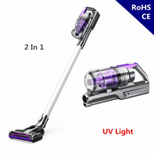 Wireless Vacuum Cleaner Cordless Handheld UV Sterilization Vertical Portable Handspike For Pet Floor Carpet Sofa Car Home Office(China)