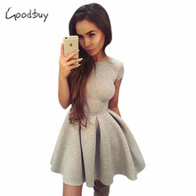 Goodbuy 2016 Summer Autumn Women Dress Space Cotton Dress Sexy Bow Party Club Dress Vintage Robe Femme Vestidos De Fiesta Robes