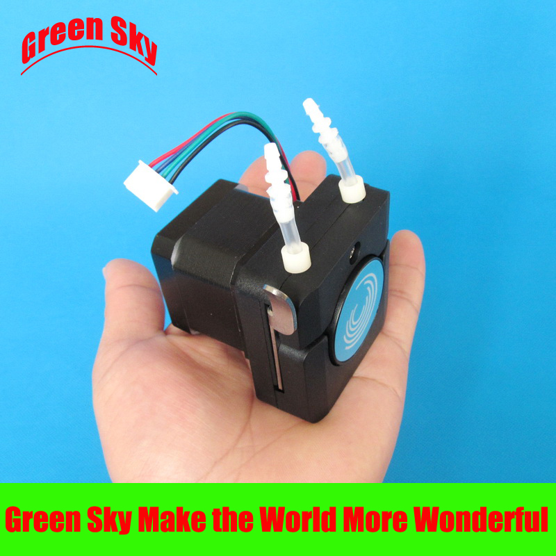 high quality 0~160ml/min dc 12v/24v peristaltic pump with stepper motor<br>