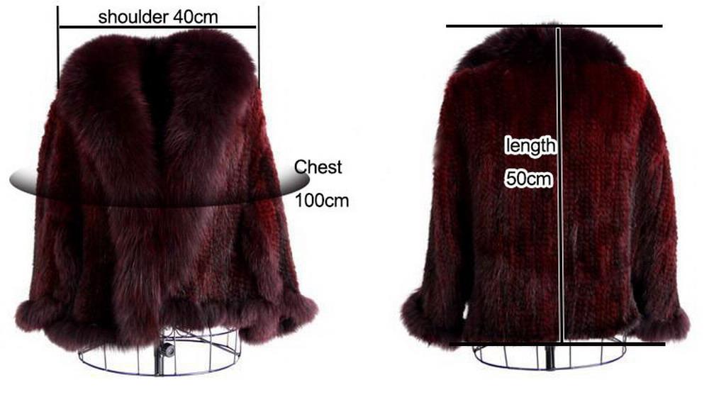 Luxury Mink Fur Shawl For Women Poncho Cape Knitted Genuine Fur Jacket Coat Female Winter Wraps Outerwear