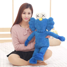 50cm Cute Kaws BFF Plush Doll Toy Thailand Bangkok Exhibition Sesame Street Kaws BFF Doll Collection Toys 2 Colors(China)