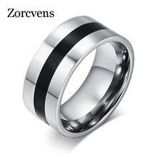 Buy ZORCVENS Men Finger Ring Stainless Steel Party Ring Enamel Stainless Steel Engagement Ring Designer Jewelry for $1.98 in AliExpress store