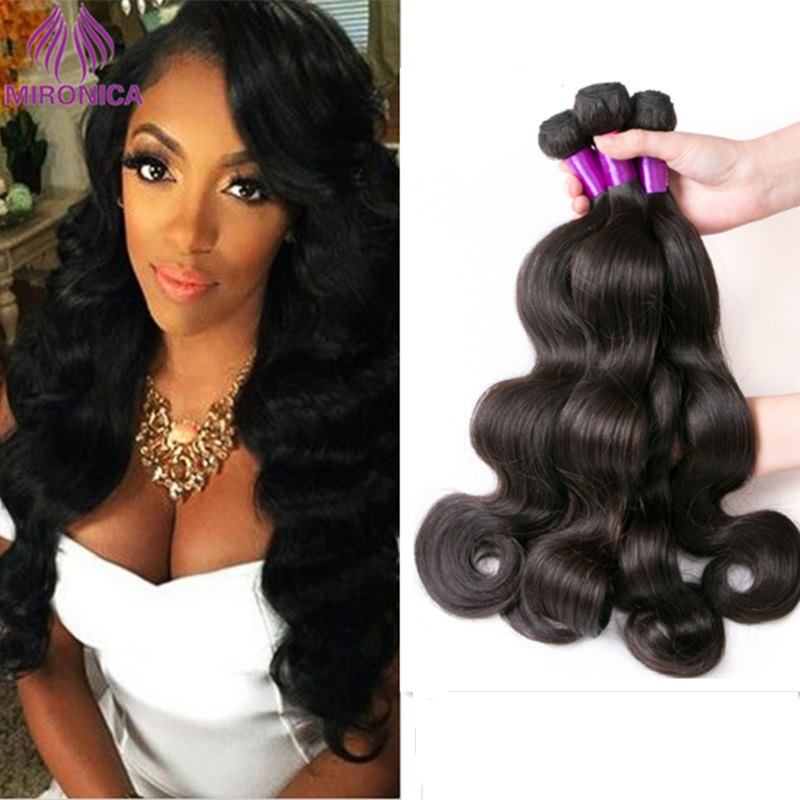 8A Unprocessed Indian Virgin Hair Body Wave 4 Bundles Indian Body Wave Human Hair Extension Virgin Indian Hair Weave Bundles<br><br>Aliexpress