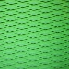 Free Shipping Green Color Diamond Cutting Pattern Eva Sup Board Deck Pad Grip Pad Top Pad