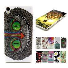 For Sony Xperia Z3 D6603 D6653 Cases Protective Shell Ballon Flower Animal Owl Coque Z3 TPU IMD Case Soft Silicon Back Cover