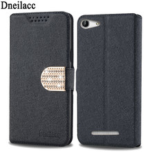 Dneilacc Lots style for Cubot Note S mobile phone case new luxury flip cover with three kinds of diamond buckle(China)