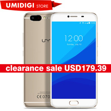 UMI Z MTK Helio X27 Global First Launch Front Touch ID Cell Phone Softlight LED Front Camera 4GB RAM Dual Nano Card Mobile Phone