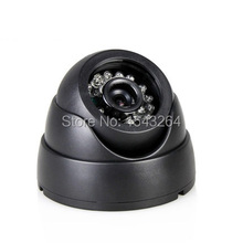 New type mini dome camera best price 700TVL secutity camera SONY CCD Day/night indoor CCTV camera free shipping(China)