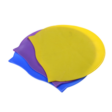 1Pc Swim Cap From keep hair off your face Comfortable swimming cap protects your scalp from harmful UV rays in the sun(China)