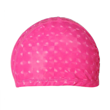 Super sell Unisex Children Kids Breathable Swimming Hat Waterproof Hair Care Ear Protection Swim Cap Polyester(China)