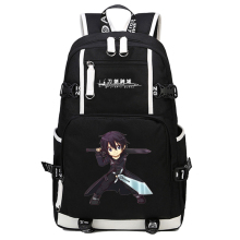 2017 New Sword Art Online Backpack Cosplay SAO Asuna Anime School bag Bookbag Satchel Rucksack Work Leisure Laptop Travel Bags(China)