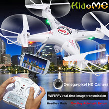 KidoME RC Drones D97 With Camera HD RC Helicopter D97 2.0PM WIFI FPV Selfie Drone 6-Axis 4CH Gyro RC kvadrokopter Quadcopter