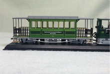 1:87 G3/3 (SLM) - 1894 Swiss Rail Steam Locomotive Model Train Static(China)