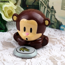 Keimei Monkey Nail Polish Dryer Cute Fan Hand Blower Nail Art Varnish Manicure Blow