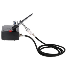 Dual Action Airbrush Air Compressor Kit aerografo Spray gun for Art Painting Tattoo Manicure Craft Cake Air Brush Nail Tool Set