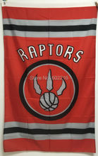 NEW Basketball Toronto Raptors Large Outdoor Team Flag 3ft x 5ft Football Hockey USA Flag(China)