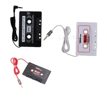 Kebidumei 3 Colors Car Cassette Tape Stereo Adapter Tape Converter For iPod For iPhone MP3/4 AUX Cable CD Player 3.5mm Jack Plug