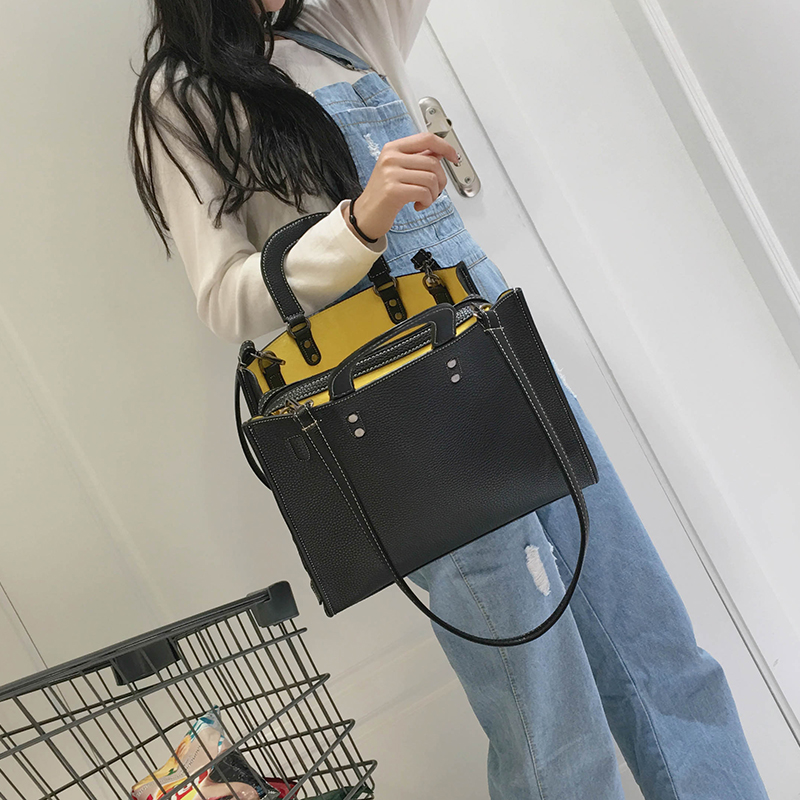Wemen OL Business Commuting Bag New Saffiano Handbag Fashion Temperament professional Shoulder Bag Lady PU Soild Crossbody Bag<br>