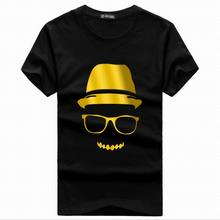 Kids Gilt Print T Shirt Summer Style Party Club Cotton Children Kids Neon Print T Shirts Cartoon Animation T Shirt